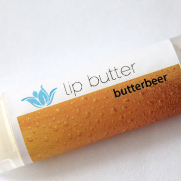 Butterbeer Lip Butter, All Natural .. on Luulla