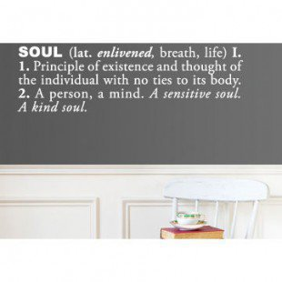 ADZif Blabla Soul (English) Wall Decal - T3107-EN - All Wall Art - Wall Art & Coverings - Decor