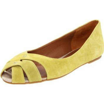 Lucky Women's Ester Ballet Flat - designer shoes, handbags, jewelry, watches, and fashion accessories | endless.com