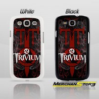 Trivium The Awakening Black metal Band Logo Samsung Galaxy S3 Case
