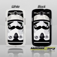 Stormtrooper Mustache Star Wars Samsung Galaxy S3 Case