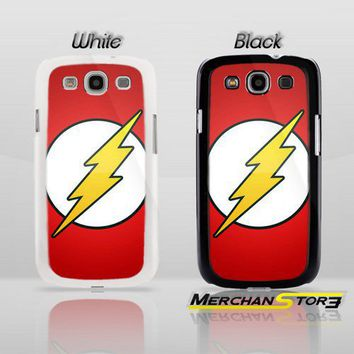 The Flash Superhero Logo Samsung Galaxy S3 Case