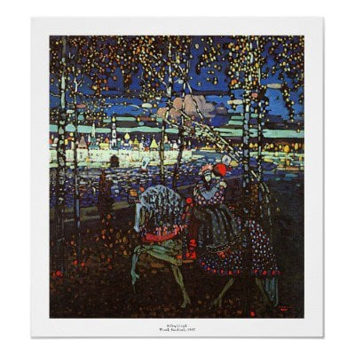 Riding Couple by Wassily Kandinsky Posters from Zazzle.com