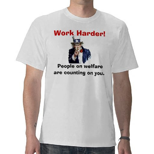 Welfare T-shirts from Zazzle.com