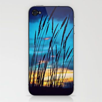 Western Sky iPhone & iPod Skin by Melanie Ann | Society6