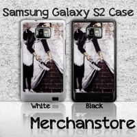 Banksy Maid Street Art Samsung Galaxy S2 Case