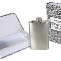 FLAPPLES - Excel in College Hidden Flask