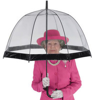 Her Majesty's Umbrella - Hammacher Schlemmer