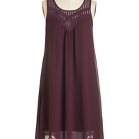 ModCloth Long Sleeveless Tent Endless Entertainment Dress