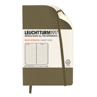 Kikkerland Design Inc » Products » Leuchtturm Soft Cover Pocket Notebook Lined + Taupe