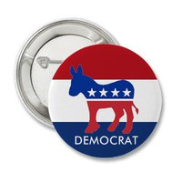 Democrat Button from Zazzle.com