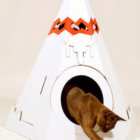 The Purr-fect Place in Tipi | Mod Retro Vintage Pet Accessories | ModCloth.com