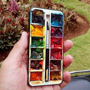 Watercolor Paint Set iPhone Case, iPhone 6 / 6 Plus Case, iPhone 4/4S5/5S/5C Case, Samsung Galaxy Case
