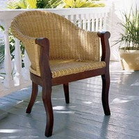 PoshLiving - Pacifica Island Chairs, Set of Two - Product Images