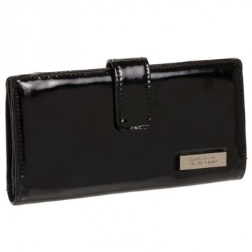 Kenneth Cole Reaction Women's Patent Thin Snap Wallet