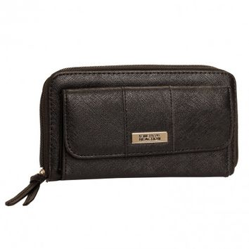Kenneth Cole Reaction Women's Textured Small Plate Urban Organizer Wallet