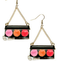 MAKE UP PALETTE DROP EARRINGS