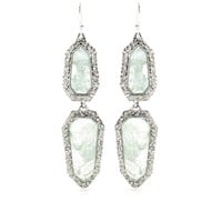 mytheresa.com -  Alexis Bittar - CRYSTAL ENCRUSTED DROP EARRINGS - Luxury Fashion for Women / Designer clothing, shoes, bags