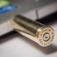 Bullet Shell USB Flash Drive [Up to 64 GB]