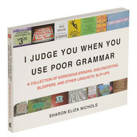 I Judge You When You Use Poor Grammar | Mod Retro Vintage Books | ModCloth.com