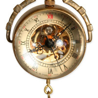 Mechanical Globe Watch (Unisex)