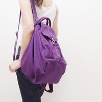 KINIES ESSENTIAL in Purple -  Multipurpose Backpack / Shoulder bag / Cross Body / Tote