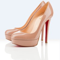 Christian Louboutin Bianca Camel Platform Pump 