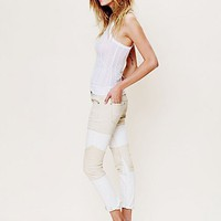 Free People Two Toned Seamed Skinny