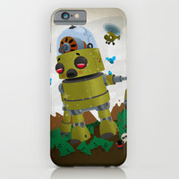 Monster robot toy iPhone & iPod Case by Alex.Raveland...robot.design.digital.art