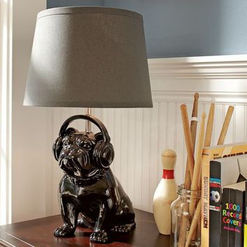 Rockin' Bulldog Lamp Base