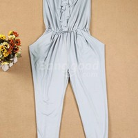New Korean Leisure Strapless piece pants Free Shipping!  - US$22.89