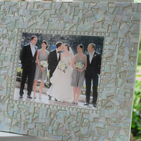 Mosaic Wedding Wall Frame