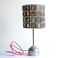 Marvel Comics. Handcrafted industrial slides desk lamp