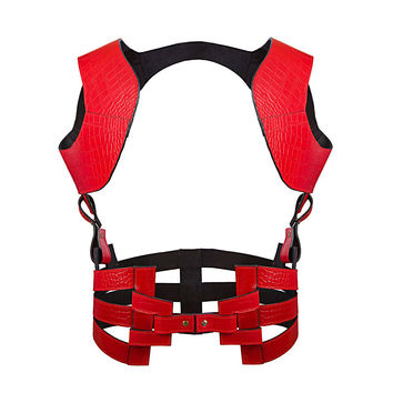 Ashley Isham Harness in Red