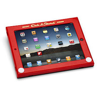 ThinkGeek :: Etch A Sketch iPad Case
