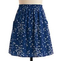 One Fowl Swoop Skirt | Mod Retro Vintage Skirts | ModCloth.com
