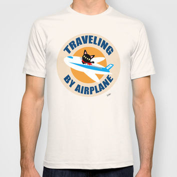 Airplane T-shirt by BATKEI