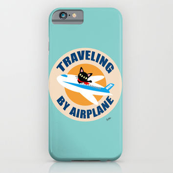 Airplane iPhone & iPod Case by BATKEI