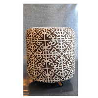 Gothic Style Brown Ottoman by ClearFrills on Etsy