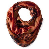 Mossimo Supply Co. Global Print Scarf - Orange