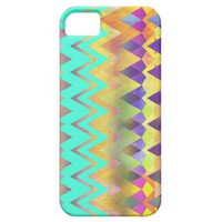 Camping Dreams_2 Turquoise -  iPhone 5 Case from Zazzle.com