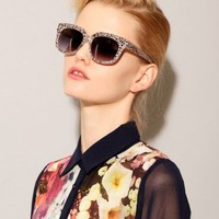 Grey leopard sunglasses [Nor6723] - $19 : Pixie Market, Fashion-Super-Market