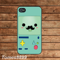iphone 4 case,iphone 4s case-- Adventure time Beemo,BMO,in plastic or silicone case