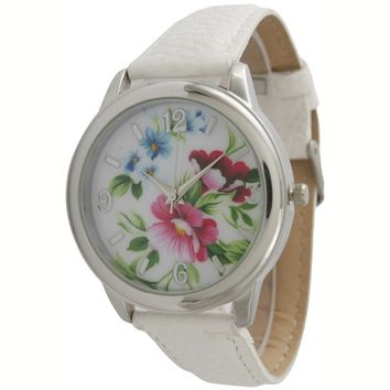 Katydid Floral Fashion Women's Watch