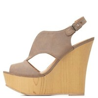 by Charlotte Russe - Taupe