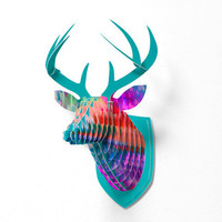 DENY Designs Home Accessories | Amy Sia Leopard Faux Deer Mount