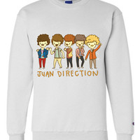 Juan Direction Themed Sweatshirt Crewneck OR Hoodie