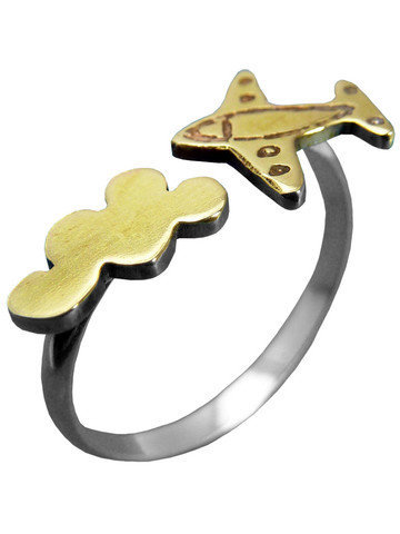 GYPSY WARRIOR - Mini Airplane Ring