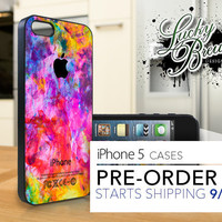 iPhone 5 Hard Case - Color Splashes - Phone Cover PRE-ORDER