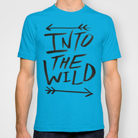 Into the Wild T-shirt by Leah Flores | Society6